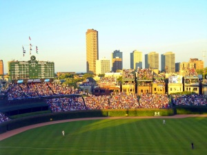 Wrigley Field is known for its old-time atmosphere Photo by Stephanie Lynn